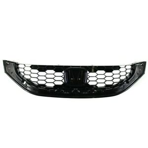 Front Grille For Honda Civic Texture 71121tr3a11 Ho1200218 New Ft