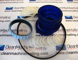 Reliant 1500 Blue Urethane Belt Kit Blue Belt Version Streamfeeder