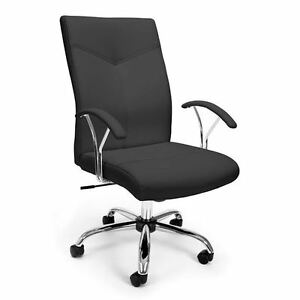 Essential Black Executive Conference Office Chair Swivel Seat