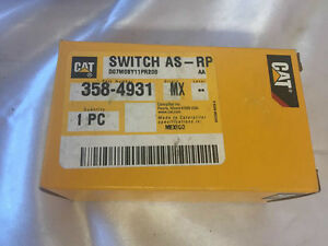Cat 358 4931 Switch Control As proportional 3584931 Caterpillar Motor Grader New