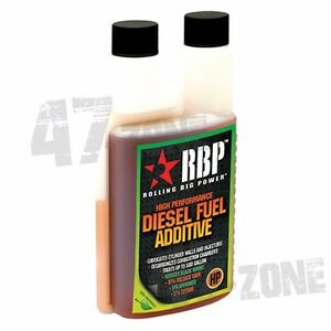 Rbp 16oz High Performance Fuel Additive Cetane For Treating 500 Gallon Diesel