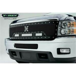 T rex Black Torch 2 6 1 12 Led Main Grille For Chevy Silverado 2500 3500 11 14
