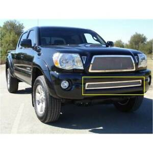 T rex Polished Upper Class Series Bumper Grille For Toyota Tacoma 2005 2011