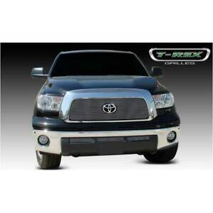 T Rex Polished Upper Class Main Grille W Top Accent For Toyota Tundra 07 09