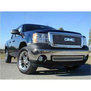 T rex Polished Upper Class Series Mesh Grille For Gmc Sierra 1500 2007 2013