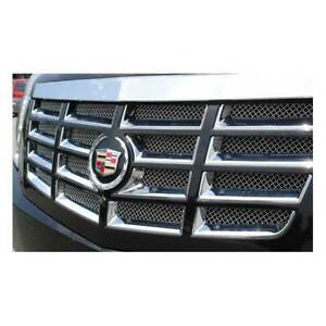 T Rex Polished Upper Class Mesh Grille For Cadillac Escalade Esv Ext 07 14