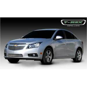 T rex Polished Upper Class Series 2pc Mesh Grille For Chevrolet Cruze 2011 2014