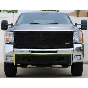 T rex Black Upper Class Series Bumper Grille For Chevrolet Silverado 11 13