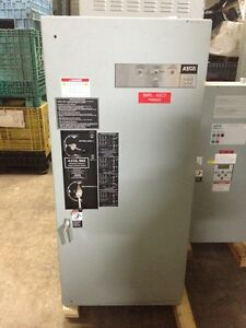 Used 400 Amp Automatic Transfer Switch By Asco 7000 Series E962340097c