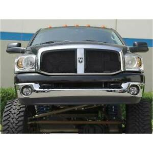 T rex Black Upper Class 2pc Mesh Grille For Dodge Ram 1500 2500 3500 06 08