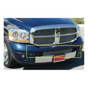 T rex Polished Bumper Grille Between Tow Hook For Dodge Ram 1500 2500 3500 06 08
