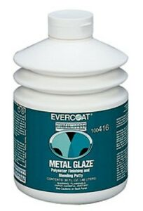 Evercoat Metal Glaze Polyester Finishing And Blending Putty 30 Oz Pump 416