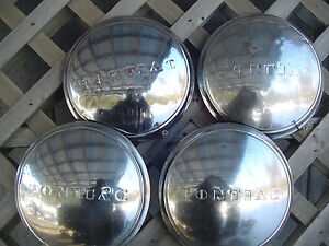 Pontiac Streamliner Coupe Chieftain Star Chief Hubcaps Wheel Covers Center Caps