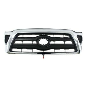 New Front upper Chrome Grille For Toyota Tacoma To1200268 5310004360