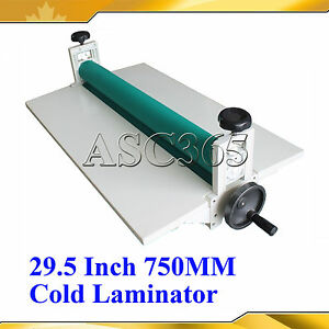 29 5 manual Cold Laminator Laminating Machine Vinyl Mounting Brand New