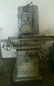 Covel hanchett 78 Chuck Surface Grinder W 8 1 2 X 24 Magnetic Chuck Usa