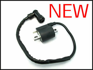 Ignition Coil Honda ATV 200X ATC200X 1983 1984 1985 83 84 85 NEW Spark Plug Wire