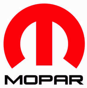 Mopar Big M Red X Large Decal 24 In Size Free Shipping