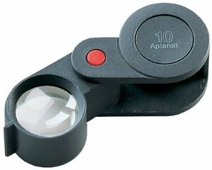 Eschenbach Loupe For Inspection Folding Plastic Magnifier Magnification 10 Times