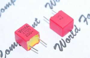 Wima Fkp2 4700p 4700pf 4 7nf 250v Pitch 5mm 2 5 Capacitor