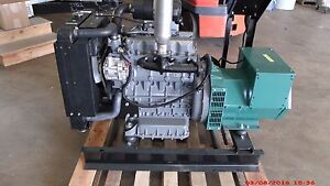 16 5kw Single Phase 120 240 Volts Refurbished Kubota Diesel Generator Set