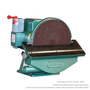 Burr King Disc Grinder Model 12