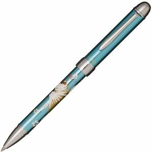 Sailor Multi function Pen Hello Kitty Metal Blue Mt fuji Made In Japan
