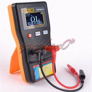 Esr Capacitor Meter Autoranging In Circuit Tester Mesr 100 Up To 0 001 To 100r