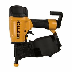 Bostitch N66c 1 1 1 4 inch T 2 1 2 inch Coil Siding Nailer With Aluminum Housing