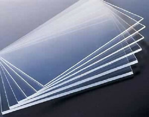 Clear Acrylic Sheet 48 X 96 X 6mm Thick 1 4 Nominal Skid Of 10 Sheets