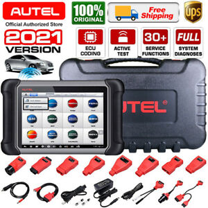 Autel Maxisys Ms906 Pro Auto Car Diagnostic Scan Tool Key Coding Tpms Gift Mv105