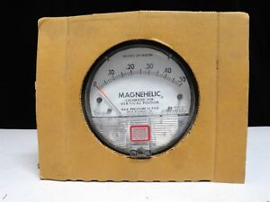 Dwyer Magnehelic Differential Pressure Gauge 0 50 2000 0 C 15 Psig new