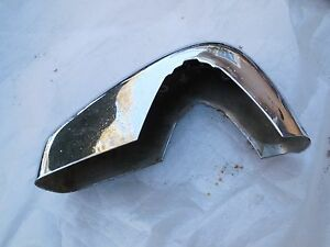 Porsche 356 Front Bumper Guard Right passenger Side
