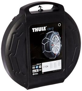Thule 12mm Cb12 Passenger Car Snow Chain Size 104 Sold In Pairs