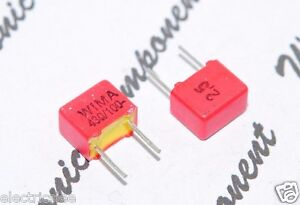 Wima Fkp2 430p 430pf 0 43nf 100v 2 5 Pitch 5mm Capacitor