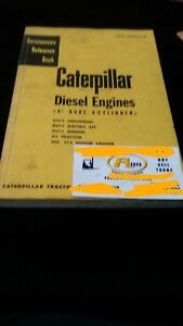 Caterpillar Diesel Engines 4 Bire 4 Cyl Servicemen s Reference Book