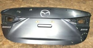 2014 2015 2016 2017 2018 Mazda 3 Sedan Rear Trunk Lid Oem Bhy0 52 61xc