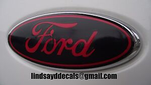 Ford Explorer Emblem Overlays Decals 2016 2017 2018 2019