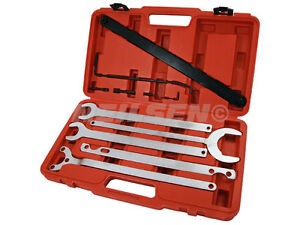 Fan Clutch Removal Holding Tool Set Bmw Mercedes Benz 3600