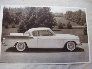1957 Studebaker Golden Hawk Side View 11 X 17 Photo Picture