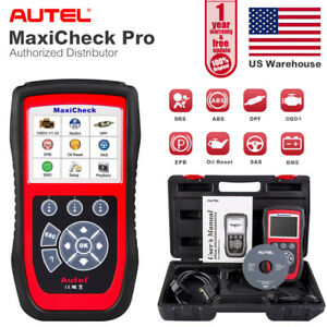 Autel Maxicheck Pro Automotive Car Obd2 Diagnostic Scan Tool Abs Srs Sas Epb Dpf