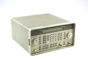 Hp 8648b Signal Generator 100khz To 2000mhz 1e5 Used