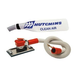 Hutchins Self generating Orbital Sander Aggressive 4 1 2 X 9 Pad hook 8665h