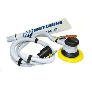 Hutchins Self generating Random Orbital Sander W 3 16 Offset 6 Psa Pad 8970