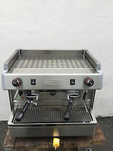 New 2 Group Compact Commercial Espresso Cappuccino Machine 115 Volts Great Deal