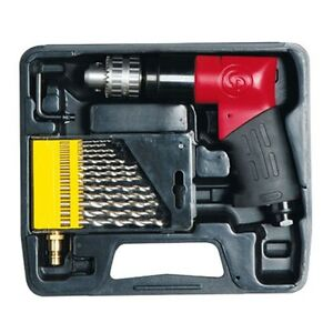 Chicago Pneumatic 3 8 Drill Kit Metric Cp9790mkit