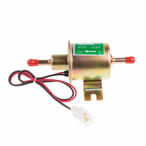 Universal Electric Fuel Pump Low Pressure 12v For Agricultural Atv Automotive