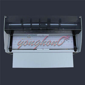 New Electric Creasing Machine Indentation Machine Cutter For Business Card 220v
