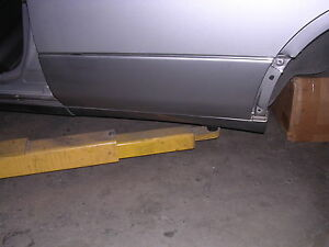 1995 1996 1997 Lexus Ls400 Rear Door Moulding Oem Left Gray