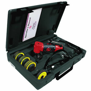Chicago Pneumatic 2 Angle Grinder Cut Off Tool Kit Cp7500dk
